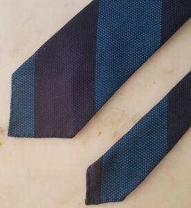 Bespoke Handmade Made To Order Grenadine Necktie Tie Italian Fabric Threefold