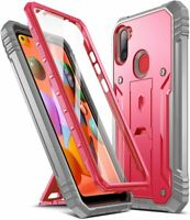 Poetic For Galaxy A11  Kickstand Case,Dual Layer Shockproof Protective Cover