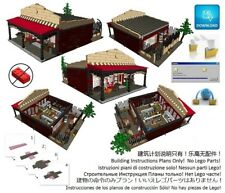 Lego Hardware Store Shop Instructions Modular Custom Building Design City Town