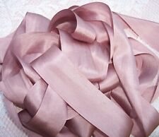 """WIDE 6YDS  COLOR # 201 VARIEGATED 100/%PURE SILK RIBBON 1//2/"""" 13MM"""