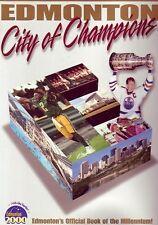 EDMONTON CITY OF CHAMPIONS Book CFL Gretzky Eskimos Oilers