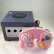 2001 Nintendo Gamecube GC Console - Purple Indigo version DOL-001 EUR - Working
