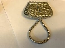 Fishing Basket TG22 Brooch drop hoop Holder Glasses, Pen, ID