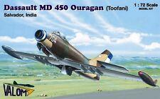 Md 450 Ouragan/Toofani (Salvador & indio af marcas) 1/72 Valom Raro