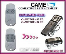CAME TOP432EE / CAME TOP434EE compatibile telecomando, Clone 433,92MHz