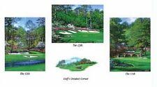 "Larry Dyke ""Golf's Greatest Corner"" Augusta National Golf Course LTD ED  S/N COA"