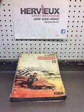 Ski-Doo Bombardier 1988 Manuel De Reparation Francais 6120718D