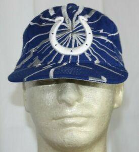Starter Indianapolis Colts Plain Logo Collision Snapback Hat Cap