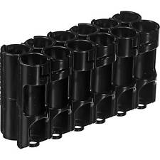 Storacell by Powerpax Aa 12 Pack Battery Caddy- Holds/ Organizes 12 Aa Batteries