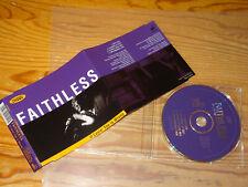 FAITHLESS - IF LOVIN YOU IS WRONG / UK 4 TRACK PROMO-MAXI-CD 1996