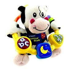 Vtech Moosical Beads Little Friendlies Cow Baby Toy Numbers Letters Musical