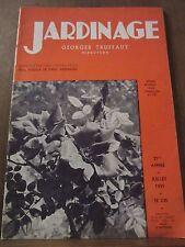 Jardinage Georges Truffaut (directeur) N°235 Juillet 1939