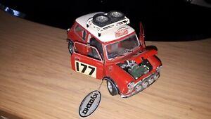 Kyosho 1/18 - Morris Mini Cooper 1275s Monte Carlo rally