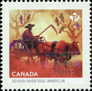 Canada Scott 2860b Red River Trail Oxcart  VF-83 MNH OG (20310)