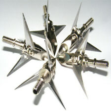 6pk Ramcat Broadhead 100grain 3-blade Archery Hunting for Compound Bow Crossbow