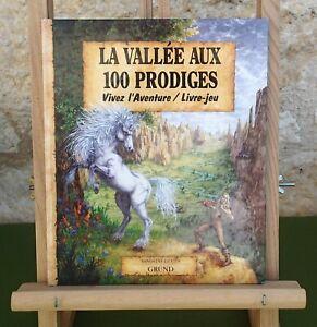 LA VALLÉE AUX 100 PRODIGES - LIVRE-JEU - S. GESTIN - GRÜND 1996 - LIVRE BON ÉTAT