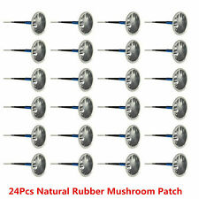24x 36mm patch voiture pneus tubeless patch en caoutchouc type champignon