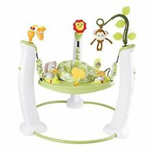 Safari Friends Design Exersaucer Jumper - customizable learn and play for baby