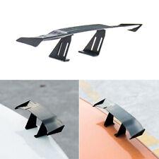 1 x Black Mini Carbon Fiber Spoiler Car Auto Rear Tail Wing Decoration Universal