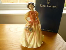 Royal Doulton Autumn Flowers Lady Figurine HN3918 Gold Edition  Boxed