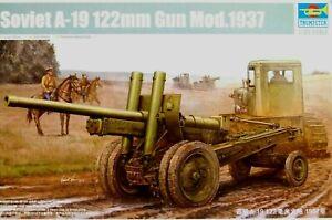 Trumpeter 1:35 A-19 122mm Gun Mod.1937 Soviet Gun Model Kit