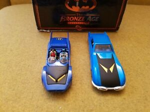 Bronze age Batman diecast model collection