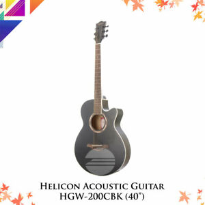 HELICON Acoustic Guitar HGW-200CBK (40″)