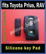 fits Toyota Prius 3 BUTTONS remote key - Replacement key buttons Pad