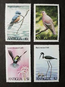 "Antigua: 1980 Birds complete mint set with broken ""0"" on 30c"