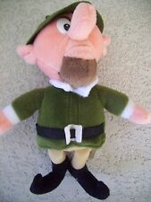 "RUDOLPH RED NOSE REINDEER (Island of misfits) 10"" THE BOSS MAN STUFFINS Plush"