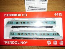 "FLEISCHMANN ART.4415 AUTOTRENO DIESEL VT 610 ""PENDOLINO"" DELLE DB Ep. V"