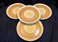 Vintage Lenox Ware Melmac Melamine 10� Dinner Plate Set Of (8)Sunflower Sunburst