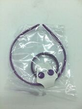 Girls Accessories Set Plastic Bracelet/Earrings/Headband Lilac With Pattern