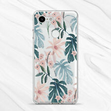 Nature Pastel Leaf Flowers Retro Girly Case For Google Pixel 4 4A 3A 3 2 1 XL