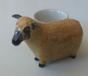 QUAIL Wensleydale Sheep with Egg Cup