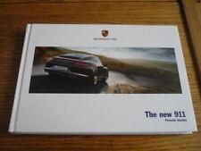 FOLLETO de prestigio Coche Porsche 911 2013