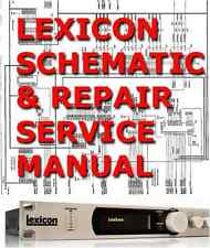 1 pdf lexicon service repair manual for M200,MPX G2,MPX1,224X,ALEX,CORE2, 97,LR4
