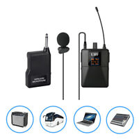 UHF Wireless Lavalier Microphone System Lapel Mic For Teaching Classroom Lecture