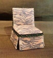 Dollhouse Miniature 1/2 Scale 1:24 Slipper Chair