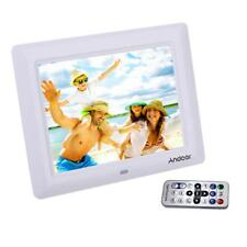 "10"" HD Digital Photo Frame Picture Clock Mp4 Movie Player Remote Control A3e7"