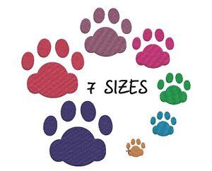 Cat Paw Print Dog Machine embroidery design PES XXX DST EXP HUS VIP VP3