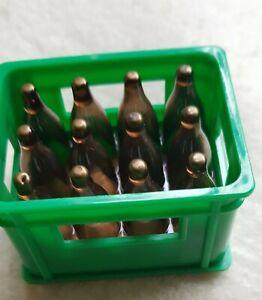 RARITÄT: kleiner Bierkasten, Bierkiste, grün, 6 x 4 x 4 cm, super Deko