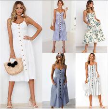 Minivestido feminino moda verão boho Casual longo para noite festa coquetel vestido de praia vestido de verão