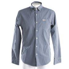 SCOTCH & SODA Freizeithemd Gr. L Blau Weiß Herren Oberteil Shirt Camisa