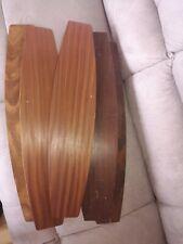 2 x Quad ESL63 Wooden Tops Electrostatic Speaker ESL Wood Trim 1 Pair