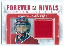 """CAREY PRICE """"RED BETWEEN THE PIPES GAME USED JERSEY"""" FOREVER RIVALS CANADIENS"""
