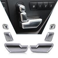 6X Sitzschalter Sitzverstellung Knopf Blende Zierleisten für Mercedes W212 W246