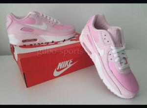 Nike Air Max 90 GS Pink Foam White Größe 37 37,5 weiß rosa CV9648 600