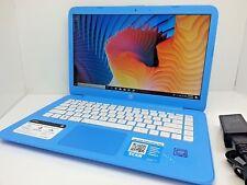 """HP Stream 14-ax010wm 14"""" - Sky Blue intel N3060 2.48GHz - 4GB - 32GB SSD Laptop"""