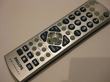 PHILIPS UNIVERSAL CL034 TV VCR/DVD SAT Remote Control Tested and cleaned